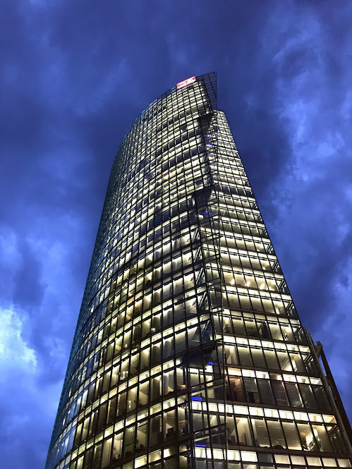 Bahn Tower, Potsdamer Platz