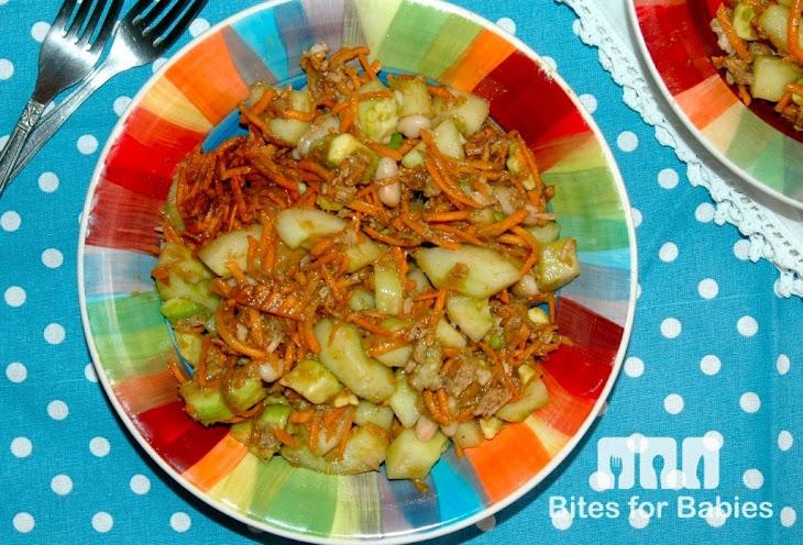 Garden Salad with Dijon Honey Balsamic Vinaigrette Recipe | Yummly