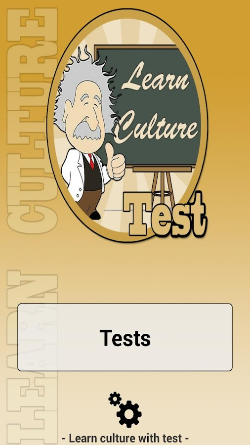 Learn culture with test- screenshot