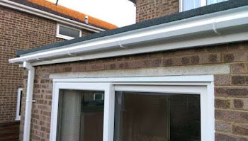 a repaired garage roof