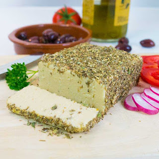 Herb-Crusted Cashew Cheese - Dairy-Free and Easy Recipe