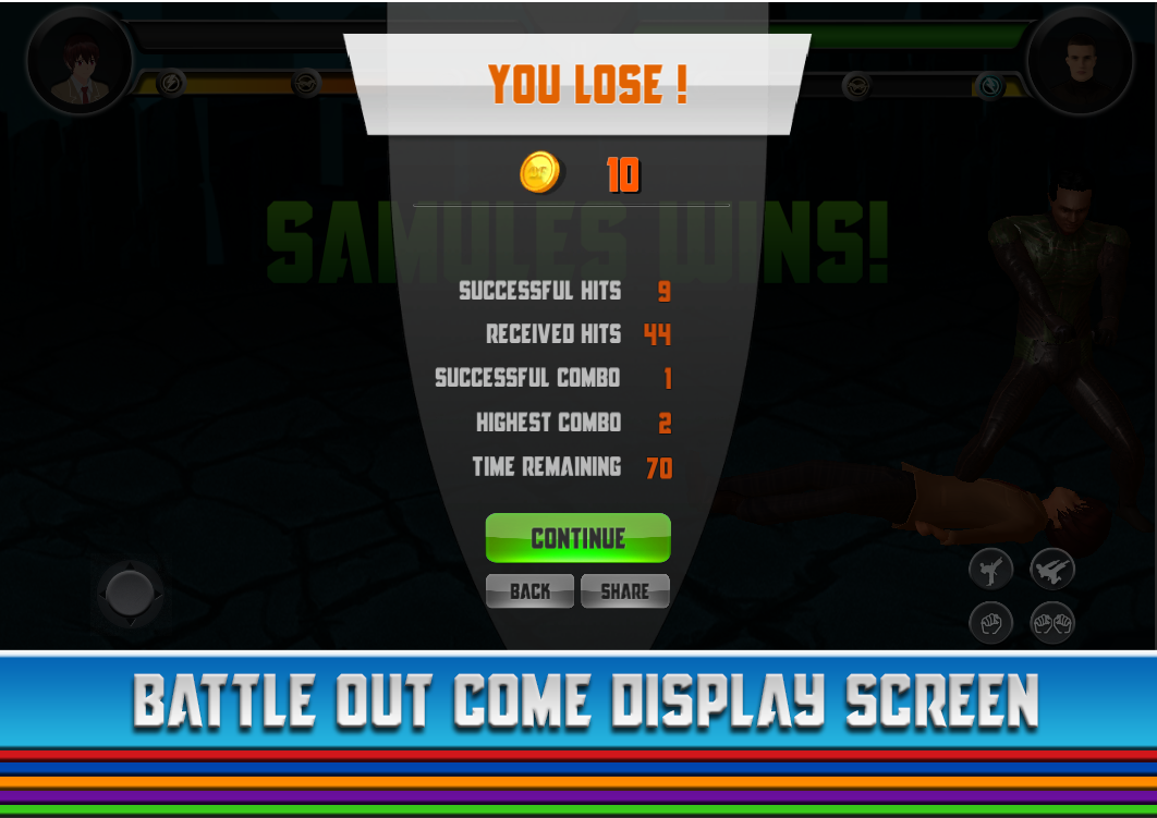 Deadly Fight - Fighting Game- screenshot