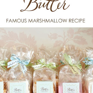 BUTTER'S FAMOUS MARSHMALLOWS Recipe
