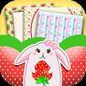 Cute Strawberry Live Wallpaper icon