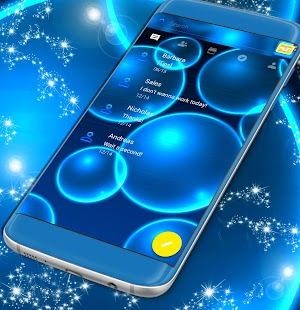 Téma aplikace Messenger Neon - náhled
