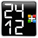 24/12 LCD Clock for Gear Fit icon