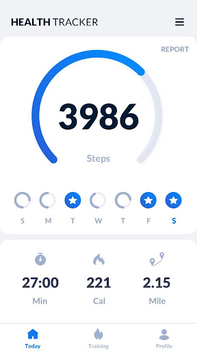 Step Tracker screenshot 1
