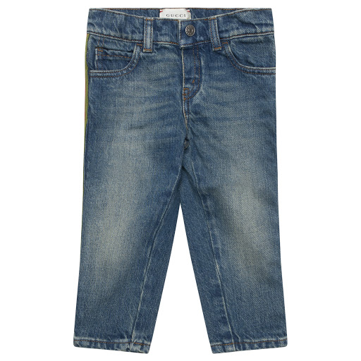 Primary image of Gucci Baby Boy Denim Jeans
