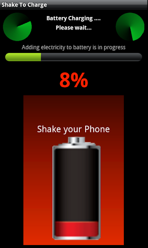 Shake Battery Charger prank