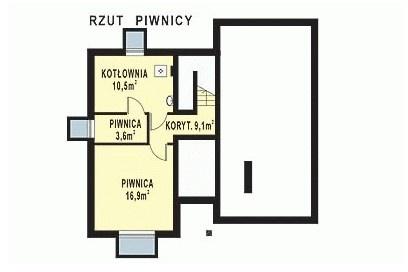 WB-3327 - Rzut piwnicy