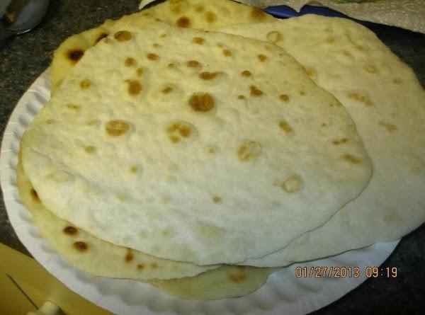 Homemade Flour Tortilla's Recipe