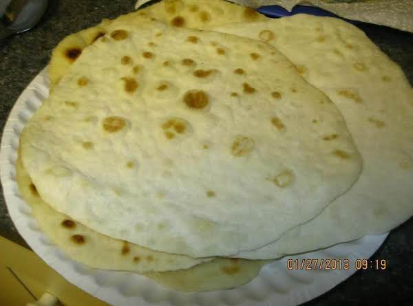 Homemade Flour Tortilla's