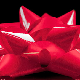 The Importance of a Red Bow by Sherry Hallemeier - Artistic Objects Other Objects ( birthday, significant other, dining room, special occasions, objects, apparel, bow, home deco, holiday, vehicle, desktop, bedding, holidays, marriage, living room, ribbons, valentines day, home decor, ribbon, artistic, valentine, christmas, bedroom, special, wall decor, wall art, clothing, time, job, wall deco, anniversary, anniversaries, presents )