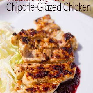 Elderberry & Chipotle-Glazed Chicken.