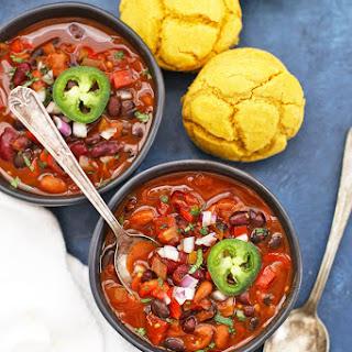 Vegan Chipotle Black Bean Chili.
