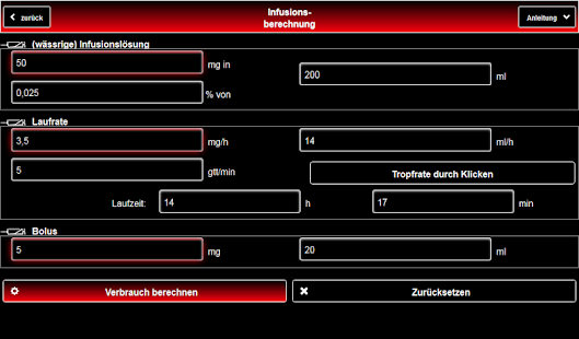 Palliative Care Tools Screenshot