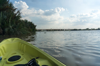 Photo: the bridge marks one of my rowing milestone, exactly 3 km away (6 km roundtrip)