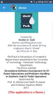 iDrillPack Demo - náhled