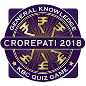 KBC 2018 & Crorepati English GK Endless Quiz Game