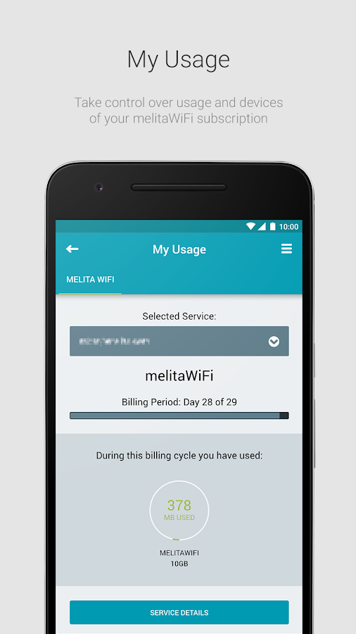 mymelita- screenshot