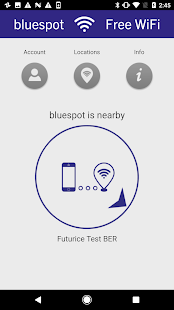 bluespot Free WiFi – Miniaturansicht des Screenshots