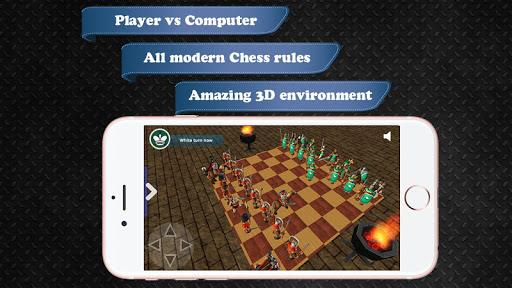 Chess Battle War 3D 1.10 screenshots 1