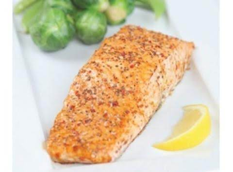 Salmon With Honey, Mustard, And Aji Amarillo Glaze Recipe