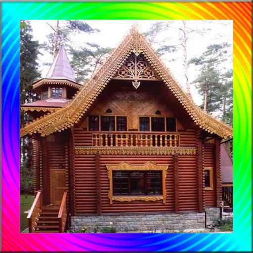 Amazing Wooden House Design