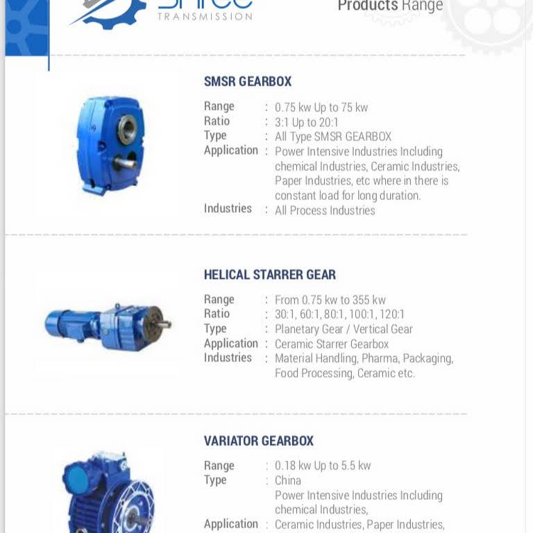 Shree Transmission - Industrial Spares & Products Wholesaler in Vapi
