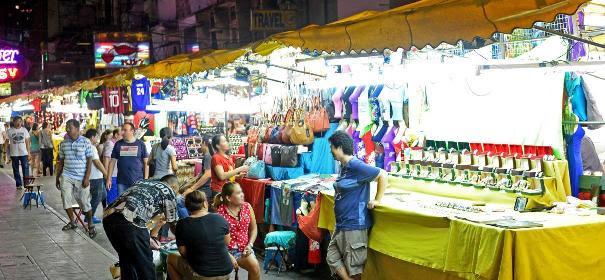 Mercados em Banguecoque