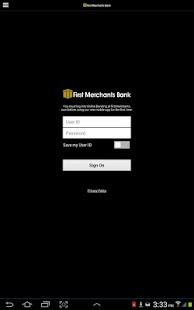 First Merchants Mobile-Tablet- screenshot thumbnail