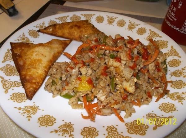 Brown Fried Rice Recipe