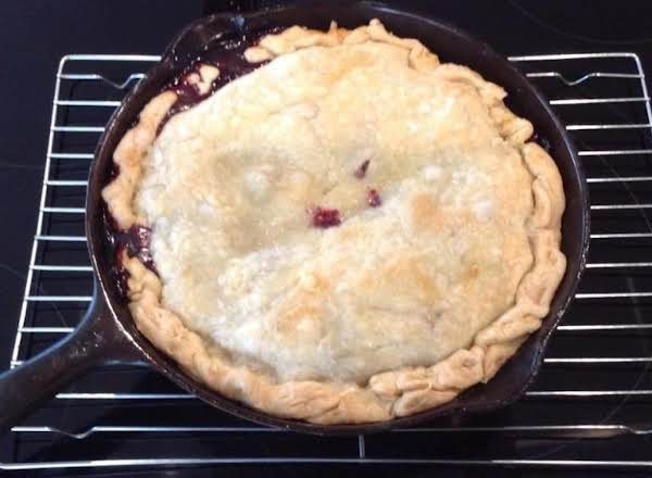 Blackberry Skillet Cobbler Recipe