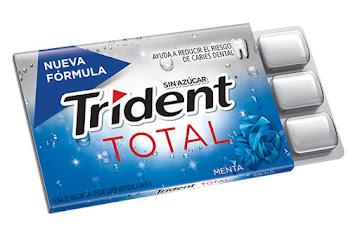 Goma De Mascar Trident White