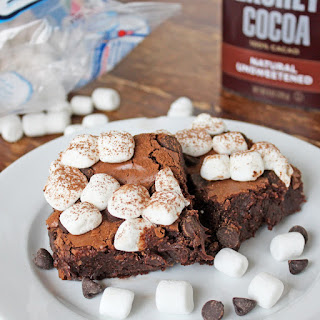 Hot Cocoa Brownies