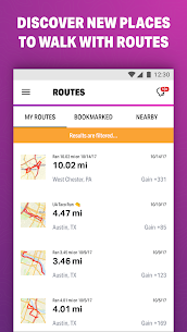 Walk with Map My Walk MOD APK [Premium Subscription Unlocked] 4