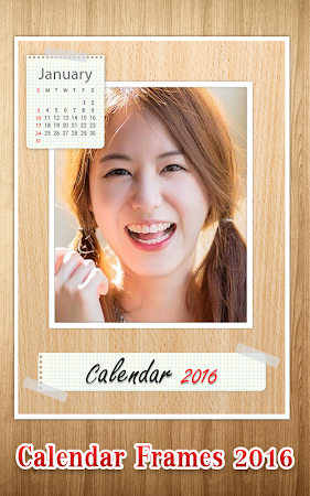 Calendar Photo Frame 2016 1.1 screenshot 428957