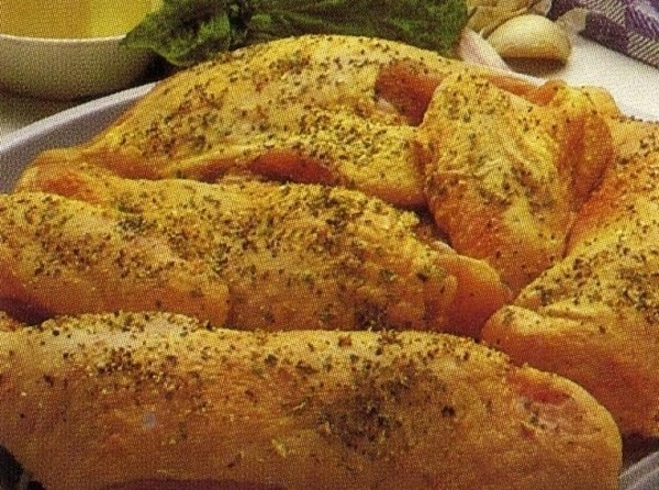 Place chicken on a microsafe rack or in a pie plate.