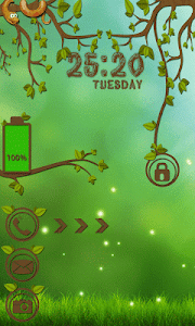 Forest Go Locker Theme screenshot 2