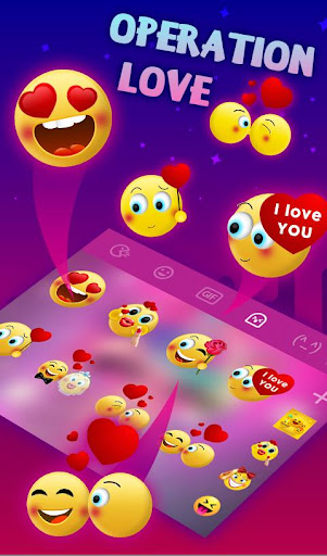 Screenshot for Operation Love Keyboard Sticker in Hong Kong Play Store