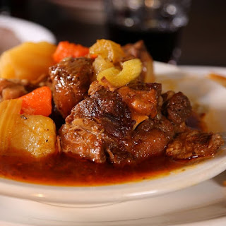 Pressure Cooker Oxtail Soup.