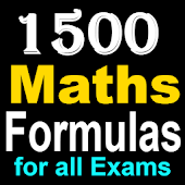 1500 Maths Formulas For All Board Exams 2018