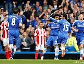 Chelsea bat Stoke et reprend la tête du championnat