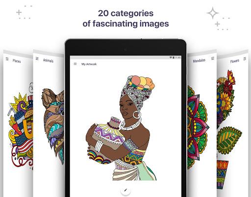 Coloring Book for Me & Mandala apk screenshot 19