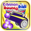 Cannon Ball gonflable icon