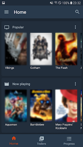 Moviebase - TV Show & Movie Tracker. TMDb. Trakt. 1.0.6 screenshots 2