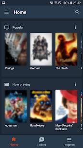 Moviebase – TV Show & Movie Tracker. TMDb. Trakt. 2