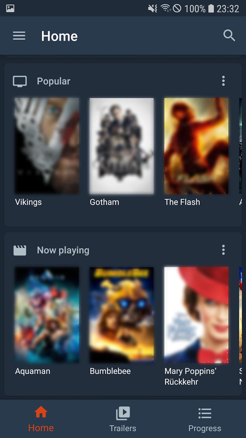 Moviebase - TV Show & Movie Tracker. TMDb. Trakt. Screenshot 1