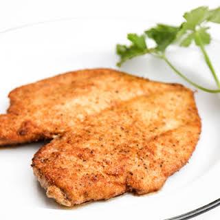 Chicken Schnitzel No Egg Recipes.
