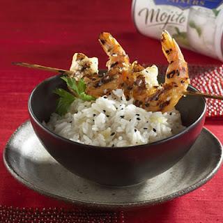 Grilled Mojito Shrimp